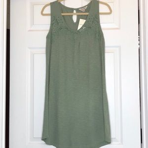 Lucky Brand Green Dress NWT